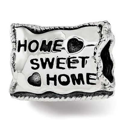 Picture of Sterling Silver Home Sweet Home Bead