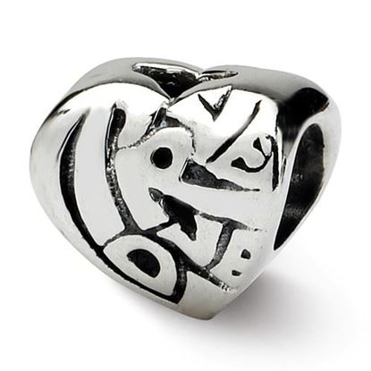 Picture of Sterling Silver True Love Bead