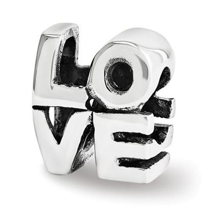 Picture of Sterling Silver LOVE Bead