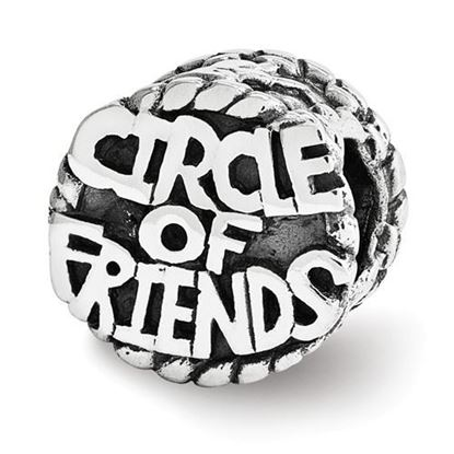 Picture of Sterling Silver Circle of Friends Bead