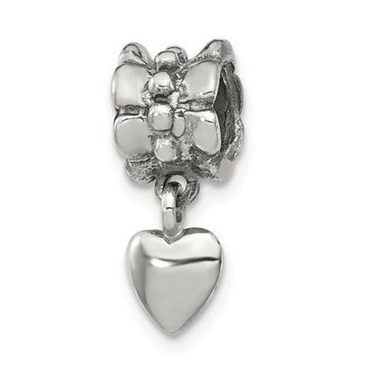 Picture of Sterling Silver Heart Dangle Bead