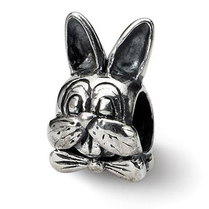Picture of Sterling Silver Easter Bunny Bead