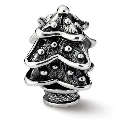 Picture of Sterling Silver Christmas Tree Bead