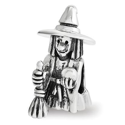 Picture of Sterling Silver Witch Bead