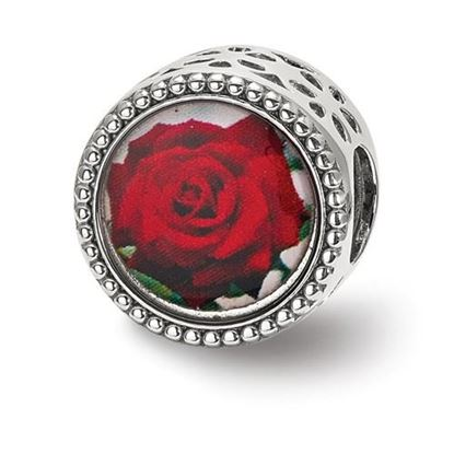 Picture of Sterling Silver June Flower Bead
