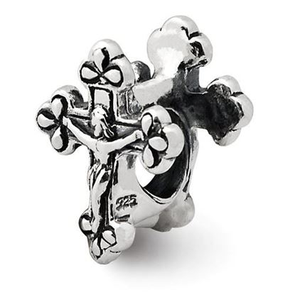 Picture of Sterling Silver Crucifix Bead