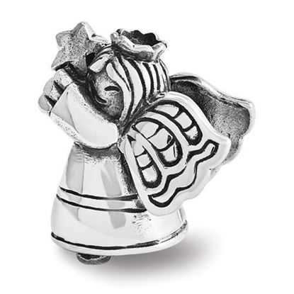Picture of Sterling Silver Christmas Angel Bead