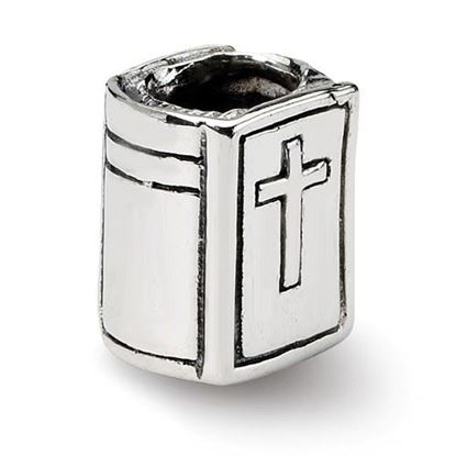 Picture of Sterling Silver Bible Bead