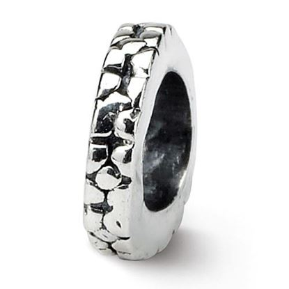 Picture of Sterling Silver Floral Spacer Bead