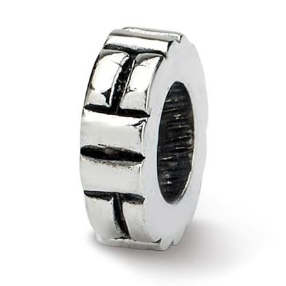 Picture of Sterling Silver Notched Spacer Bead