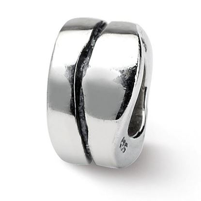 Picture of Sterling Silver Wavy Spacer Bead