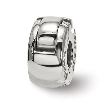 Picture of Sterling Silver Silicone Hinged Bead