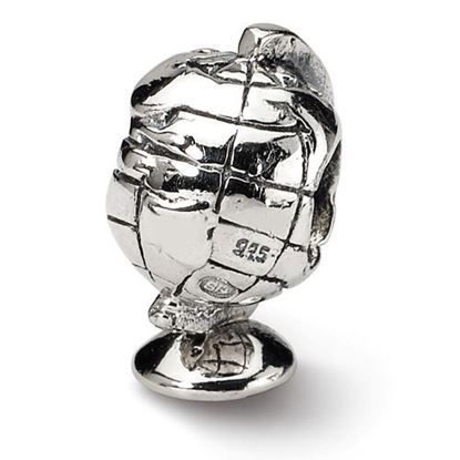 Picture of Sterling Silver Globe Bead