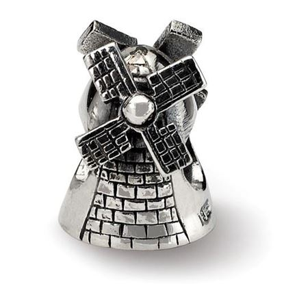 Picture of Sterling Silver Windmill Bead