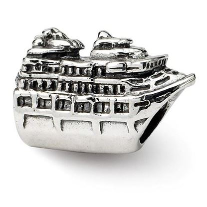 Picture of Sterling Silver Cruise Ship Bead
