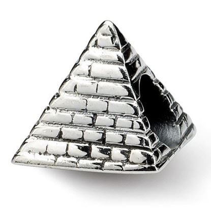 Picture of Sterling Silver Pyramid Bead
