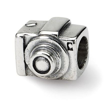 Picture of Sterling Silver Camera Bead