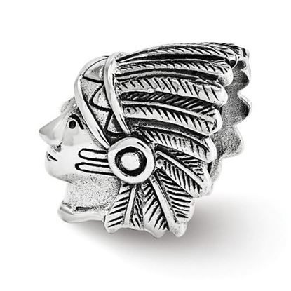 Picture of Sterling Silver Chief Bead