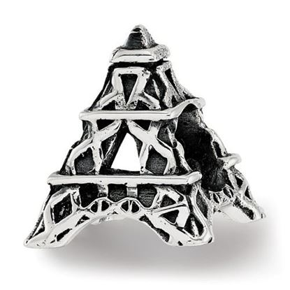 Picture of Sterling Silver Eiffel Tower Bead