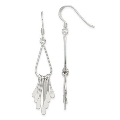 Picture of Sterling Silver Fancy Earrings