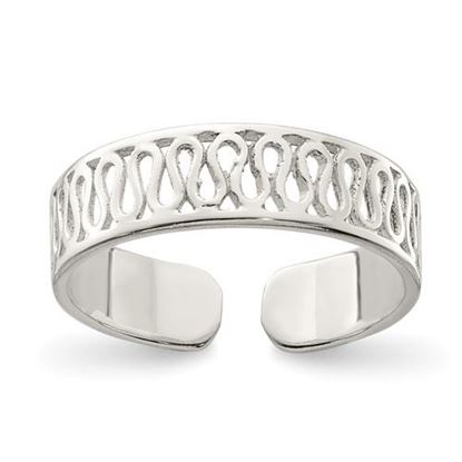 Picture of Sterling Silver Solid Toe Ring