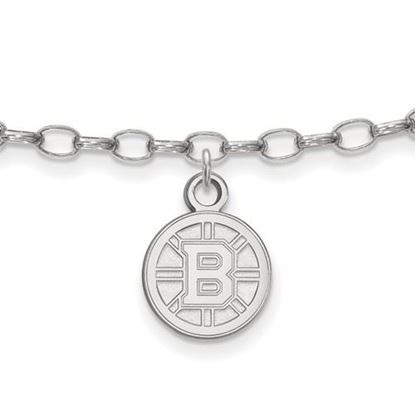 Picture of Boston Bruins® Sterling Silver Anklet