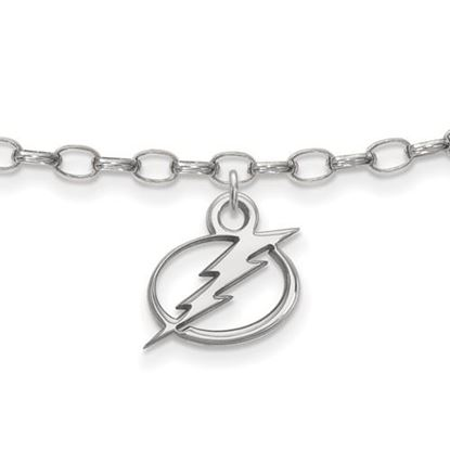 Picture of Tampa Bay Lightning® Sterling Silver Anklet