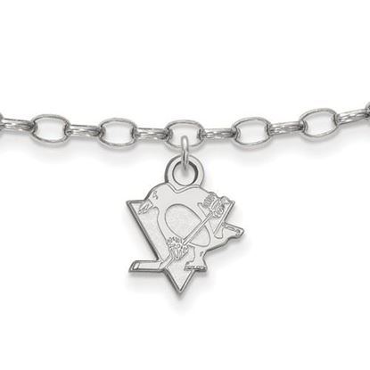 Picture of Pittsburgh Penguins® Sterling Silver Anklet