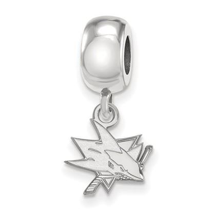 Picture of San Jose Sharks® Sterling Silver Extra Small Dangle Bead Charm
