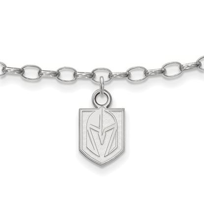 Picture of Vegas Golden Knights Sterling Silver Anklet