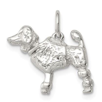Picture of Sterling Silver Poodle Charm