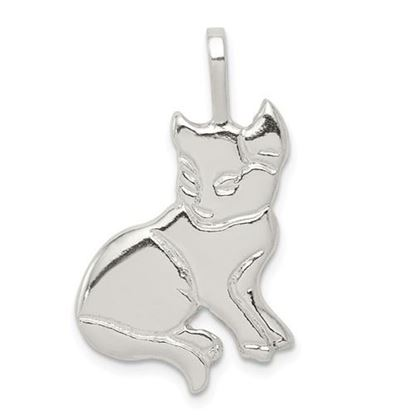 Picture of Sterling Silver Cat Charm