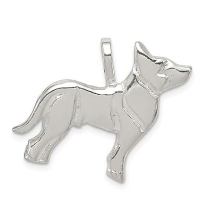 Picture of Sterling Silver Dog Charm