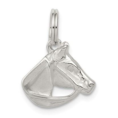 Picture of Sterling Silver Horse Head with Bridle Charm