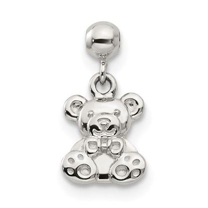 Picture of Sterling Silver Mio Memento Dangle Teddy Bear Charm