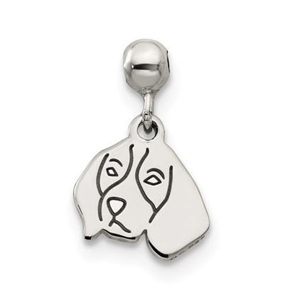 Picture of Sterling Silver Mio Memento Dangle Dog Charm