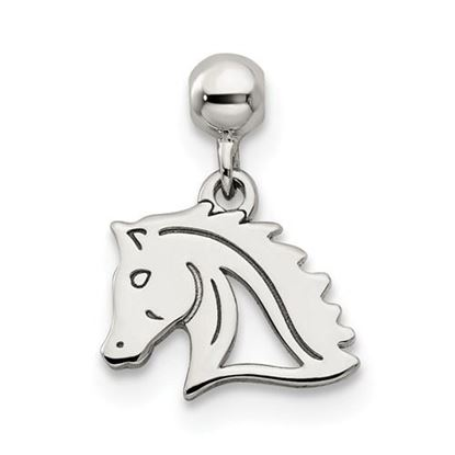 Picture of Sterling Silver Mio Memento Dangle Horse Charm