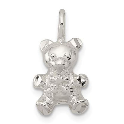 Picture of Sterling Silver Teddy Bear Charm