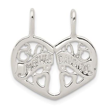 Picture of Sterling Silver Mother Daughter Break apart Charm