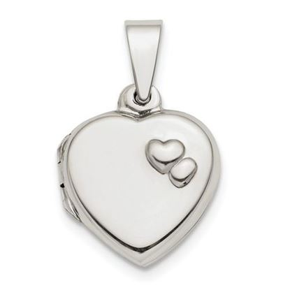 Picture of Sterling Silver Polished 13mm Heart Locket