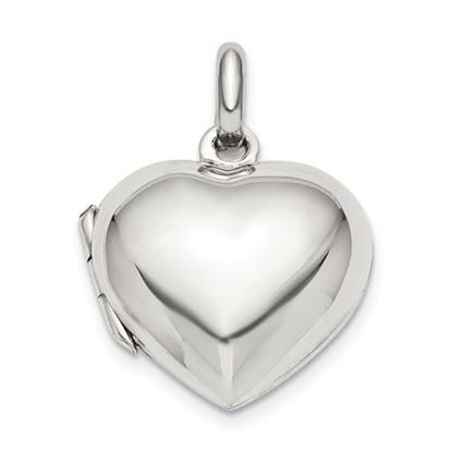 Picture of Sterling Silver Heart Locket