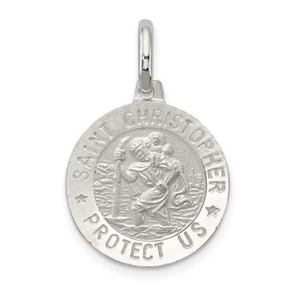 Picture of Sterling Silver St. Christopher Medal
