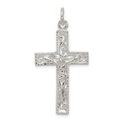Picture of Sterling Silver INRI Crucifix Pendant
