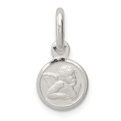 Picture of Sterling Silver Satin Angel Charm