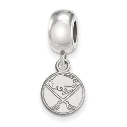 Picture of Buffalo Sabres® Sterling Silver Extra Small Dangle Bead Charm