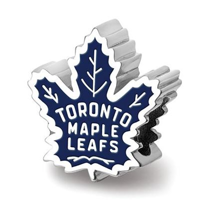 Picture of Toronto Maple Leafs® Sterling Silver Logo Bead