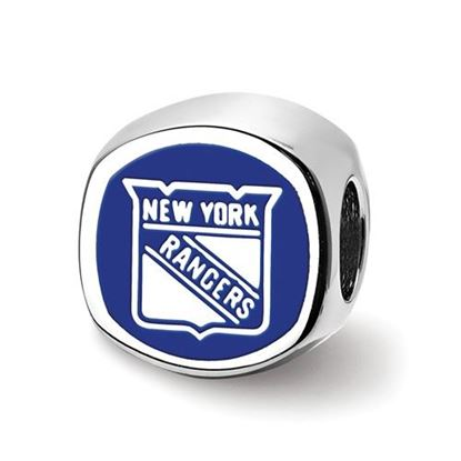 Picture of New York Rangers® Sterling Silver Logo Bead