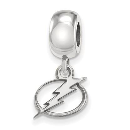 Picture of Tampa Bay Lightning® Sterling Silver Extra Small Dangle Bead Charm
