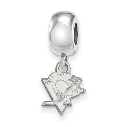 Picture of Pittsburgh Penguins® Sterling Silver Extra Small Dangle Bead Charm