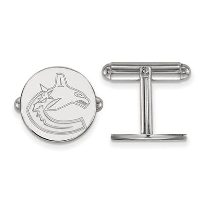 Picture of Vancouver Canucks® Sterling Silver Cuff Links